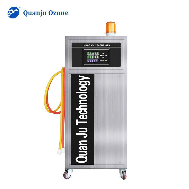 Ozone Generator for Car Rental