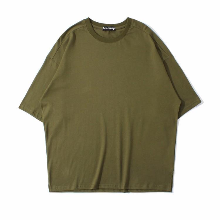 Hip Hop Oversized T Shirt Print Men
