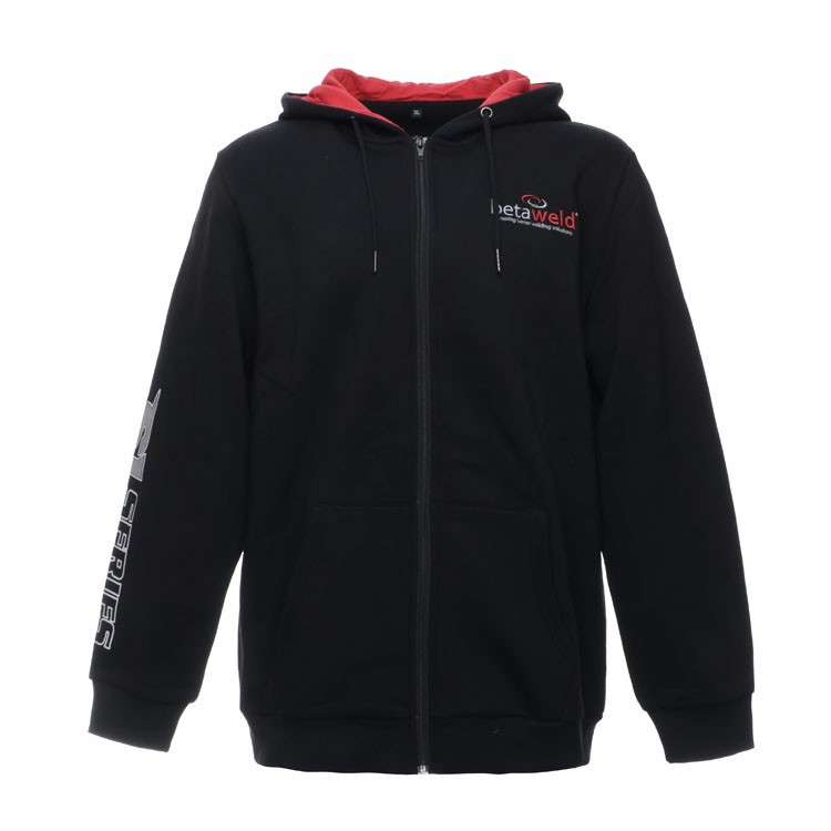 Sports Zip Up French Terry Hoodies