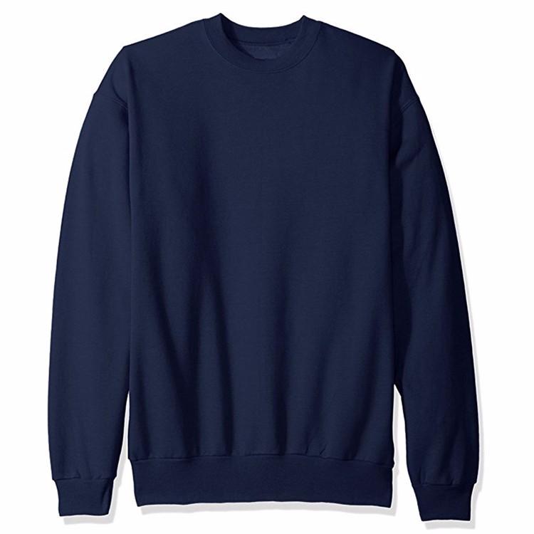 Hip Hop Black 100% Cotton Crewneck Sweatshirt