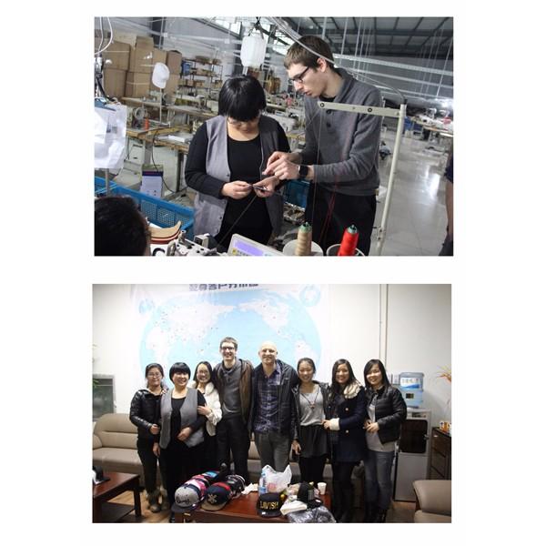 European Customers Visit Factory