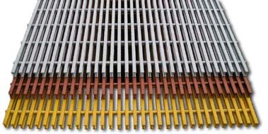 T-bar FRP Grating