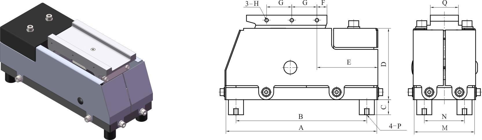 электромагнитный вибрационный питатель