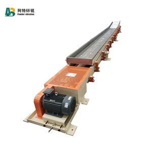 Единичен резервоар за дълги разстояния Транспортен вибрационен фидер