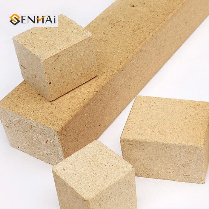 Wooden Sawdust Chipboard Block Without Hole