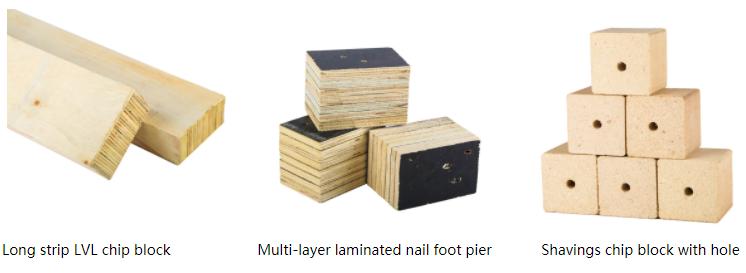 pallet chip block