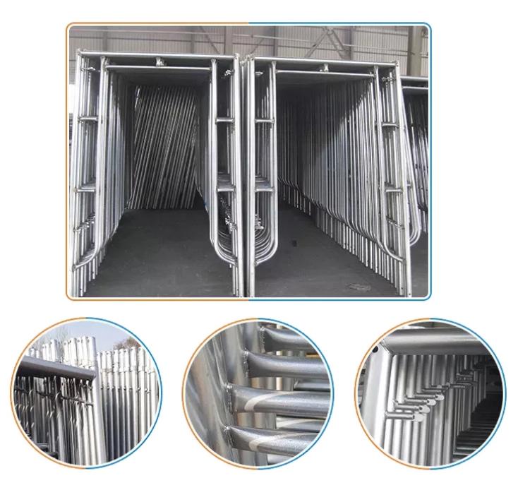 adjustable building scaffolding
