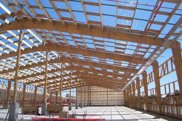 lvl timber building beam