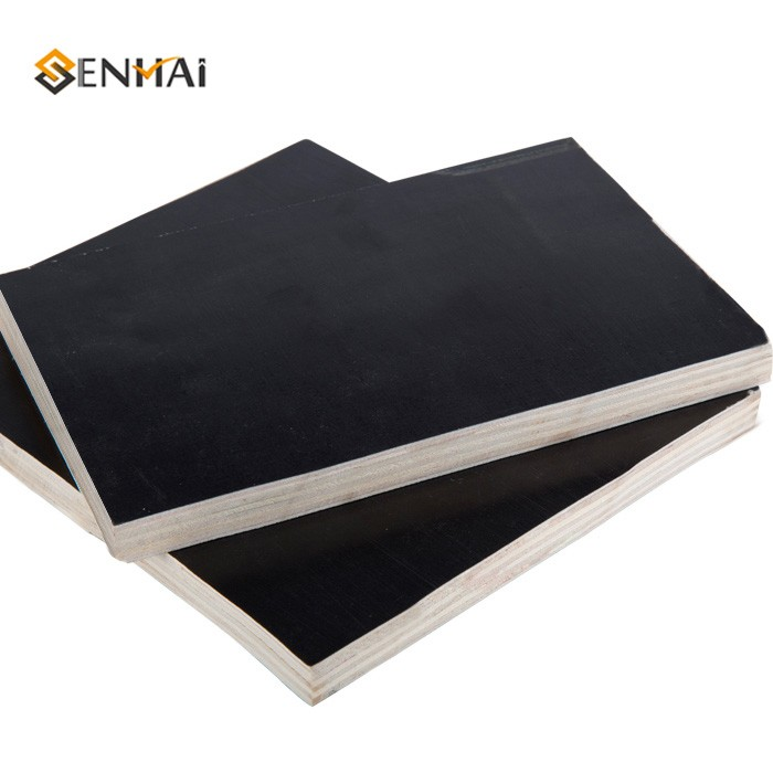 Black Film Faced Plywood For Engineering Plank