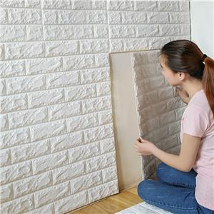 3D Home Decor Brick Wall Sticker For Nursey