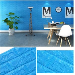 3D Tiles Moistureproof Wall Sticker For Bathroom