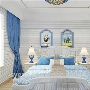 white color 3D baby bedroom living room wood wall art decor stickers