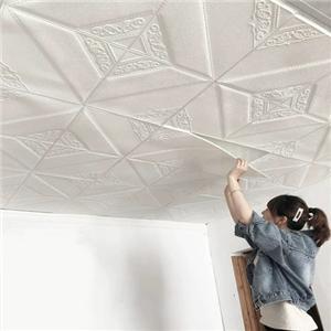 dán tường trẻ em dán trang trí nhà gạch trần sợi khoáng