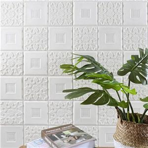 Nuovo design adesivi murali in schiuma Wallpaper soffitto 3d