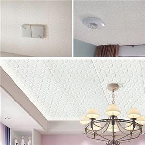 Hàng mới 3d Tự dính XPE Bọt Cotton Hình nền Phòng ngủ Phòng khách Trần chống thấm dán tường