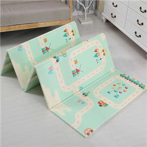 Easy to store crawling picnic baby play mat xpe foldable