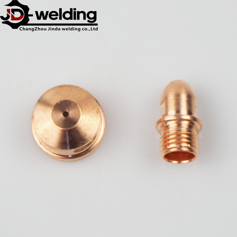 LT141 plasma cutting spare parts nozzle and electrode