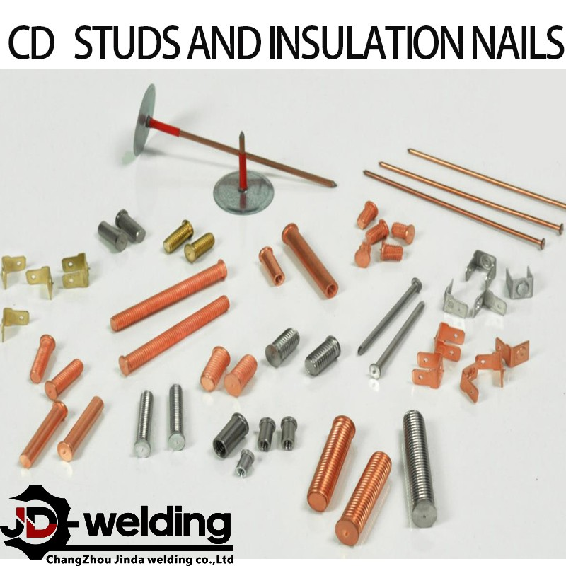 capacitor discharge studs and insulation nails