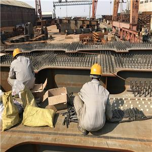 China railway group shear connector welding project