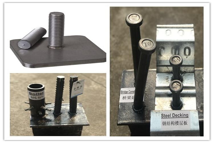 Drawn arc stud welding machine