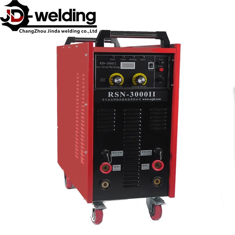 RSN-3000i stud welder ,Dual gun Drwan arc stud welding