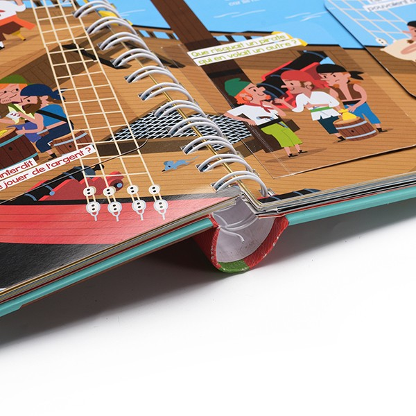 Cheap Sales Hardback Wire-O Binding Book Printing wholesale Customized