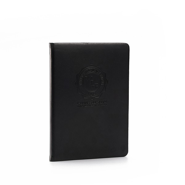 Hardcover leren Notebook Printing