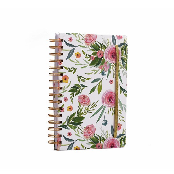 A5 Spiral Paper Notebook Printing