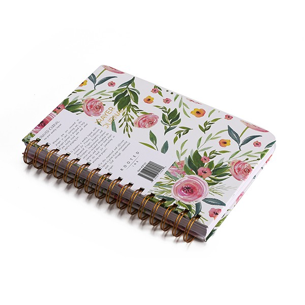 Cheap Sales A5 Spiral Paper Notebook Printing wholesale Customized