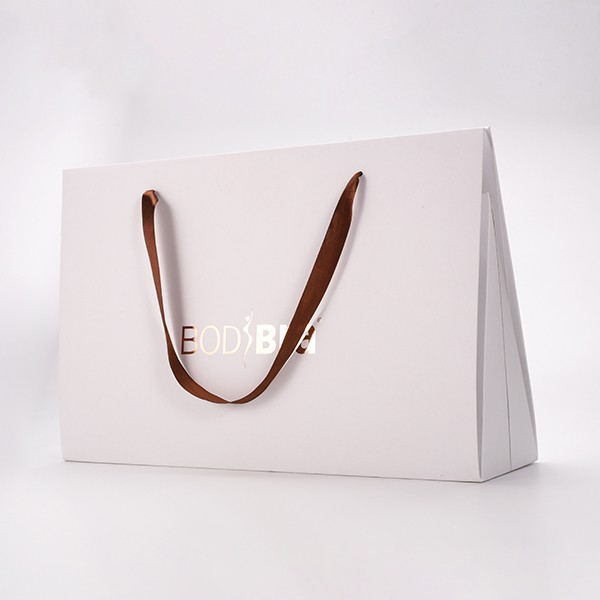 Cheap Sales Paper Shopping Gift Paper Bag With Handle wholesale Customized