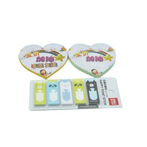 Cheap Sales Cute Memo Pad Sticky Notes wholesale Customized