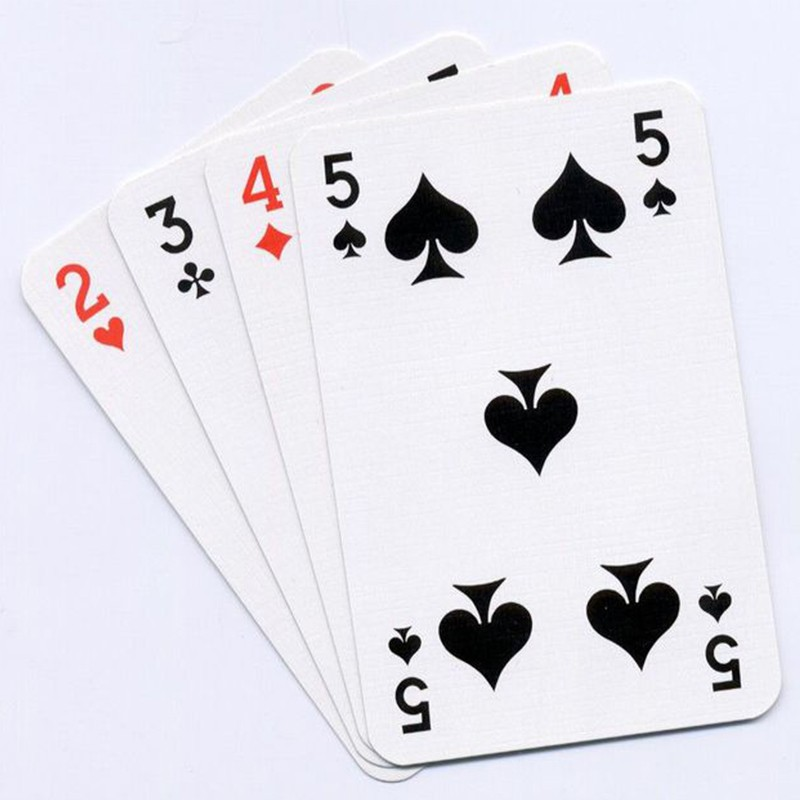 Cheap Sales Poker Card Printing Service wholesale Customized
