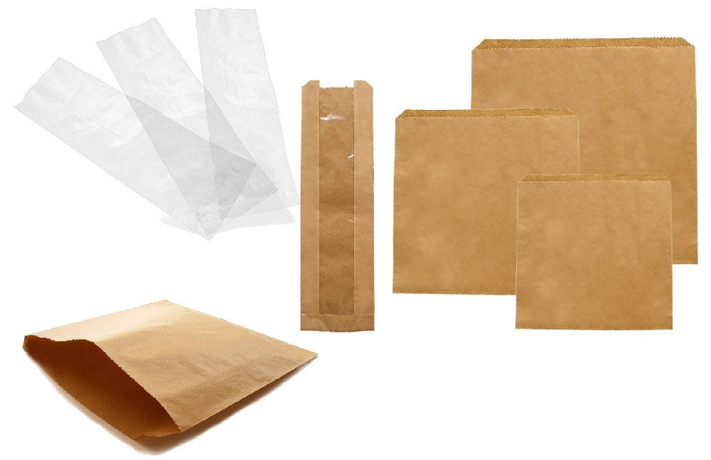 Cheap Sales Kraft Food Packing Paper Bag wholesale Customized
