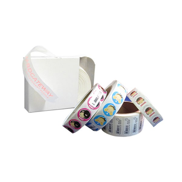 Plastic Stickers Label Printing