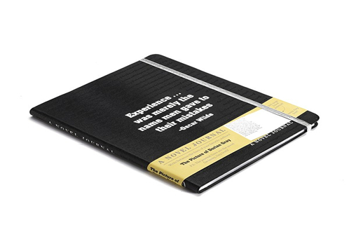 hardcover leather journal notebook