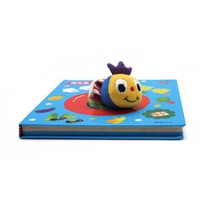 Top quality hardcover colorful 3d children board book printing