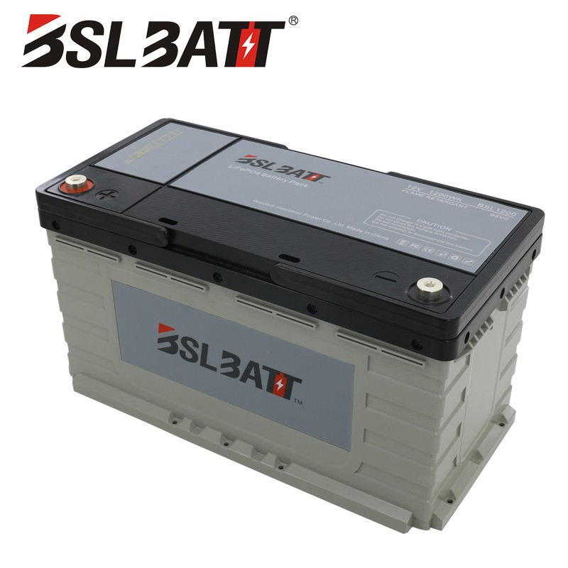 Deep Cycle LiFePO4 storage Battery Pack for marine/RV