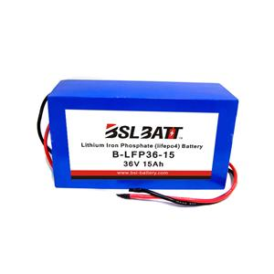 36V 15ah e-bike li-ion battery pack