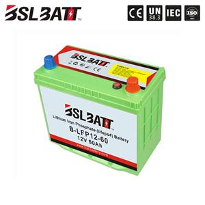 12V 60ah ev lithium battery for electric car