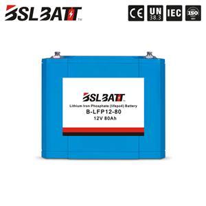 12v 80ah Marine lithium battery