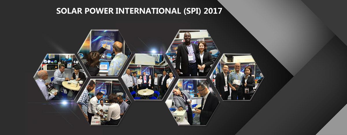 USA solar power international exhibition 2017