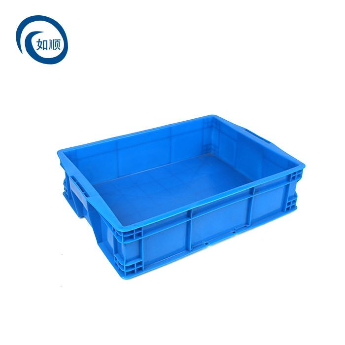Plastic Turnover Box With Handle