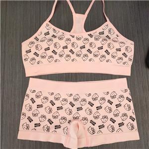 Kids Cotton Bikini Seamless Underwear