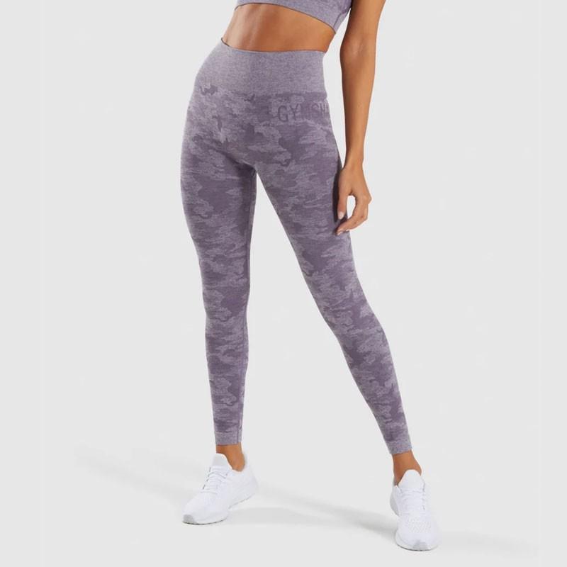 Gymshark Womens Camo Yoga Pants