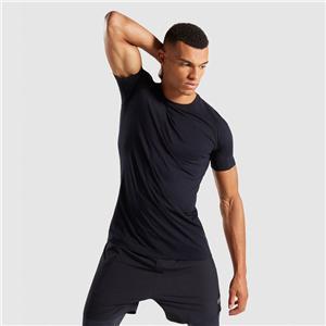 Gymshark Zwart heren naadloos T-shirt
