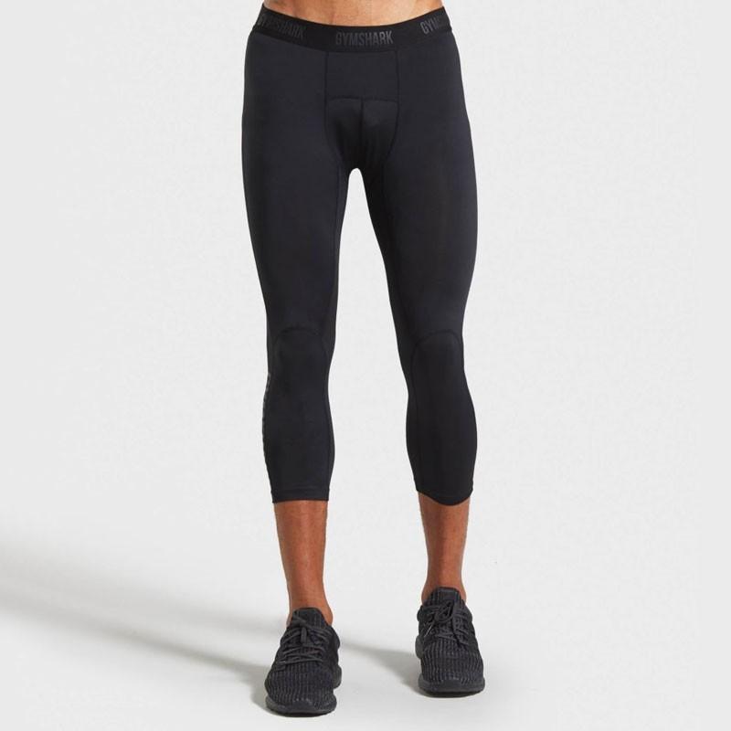 Gymshark Naadloze heren 3/4 legging Legging