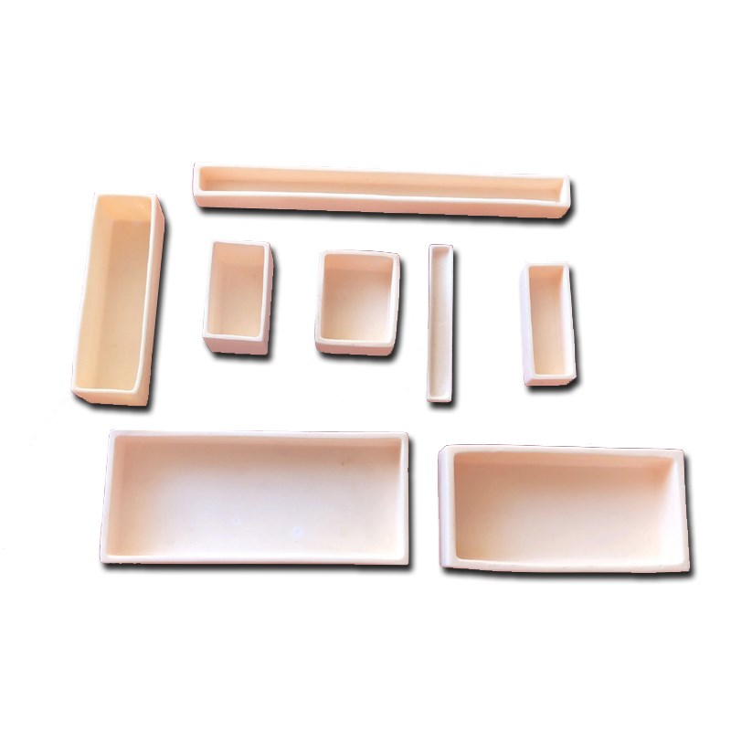 Alumina Ceramic Square Crucible