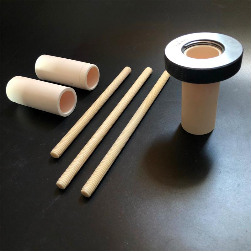 Alumina Ceramic Nut Parts
