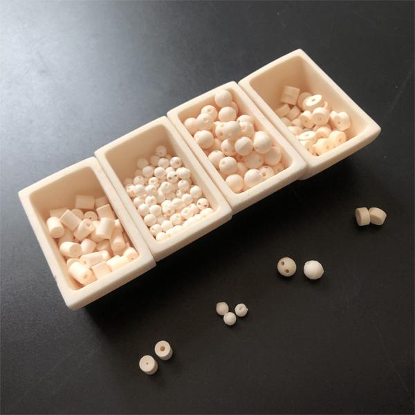 Alumina perline di ceramica