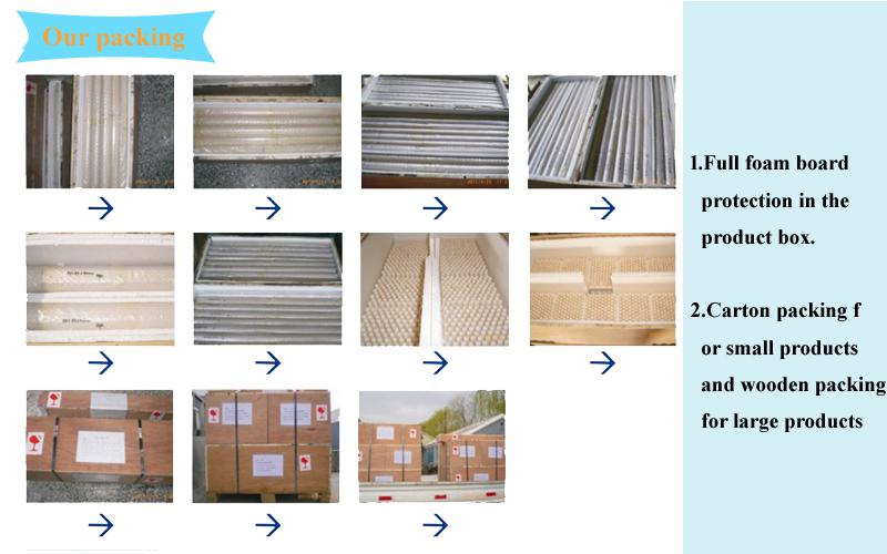 Aluminiumoxid quadratischer Tiegel